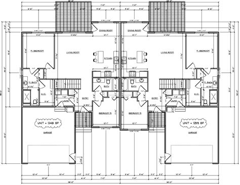 twin house plans twin home floor plan house design plans