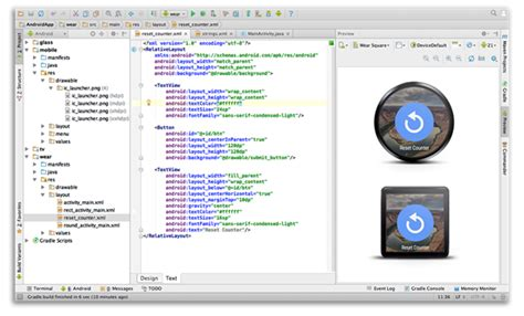 android studio templates android studio ide 1 0 for windows mac linux now available to redmond pie