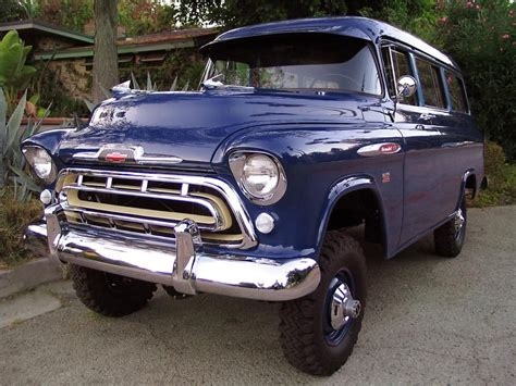 1957 Chevy Suburban By lot 713 1957 chevrolet suburban carryall napco edition