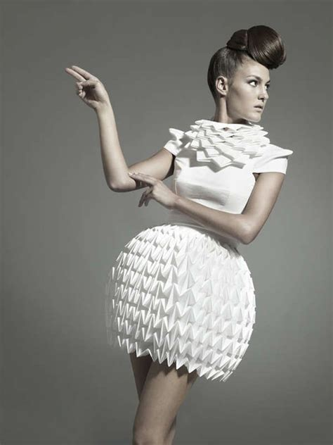 Origami Fashion Designers - best 25 origami fashion ideas on