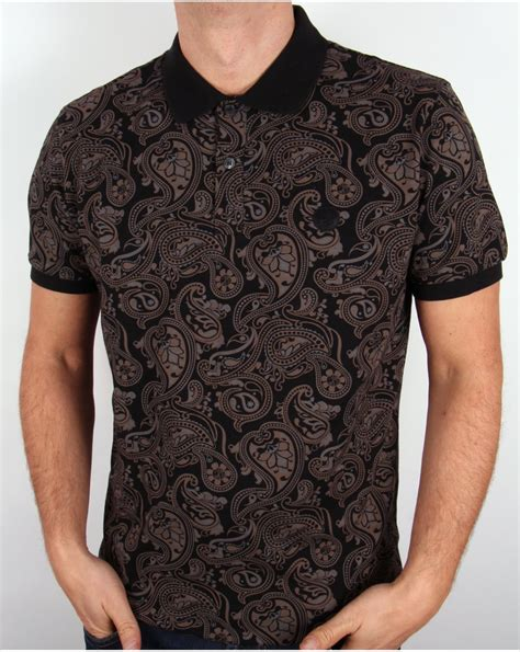 pattern shirts for guys paisley pattern mens polo shirt
