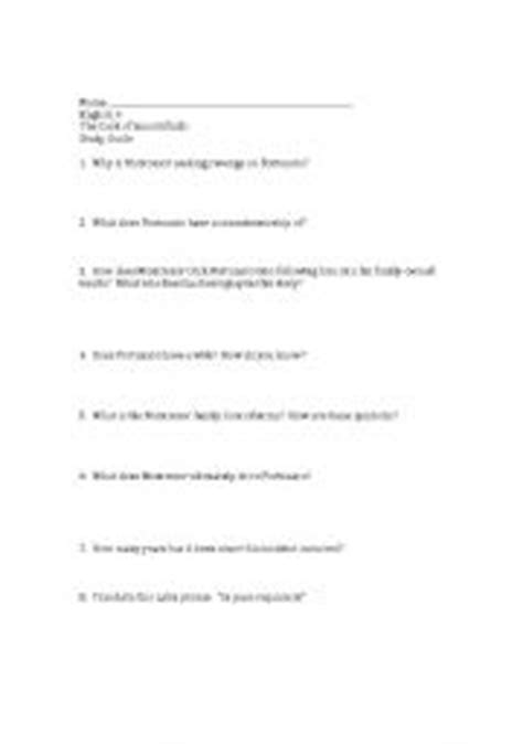 The Cask Of Amontillado Worksheet Answers by Teaching Worksheets Questions