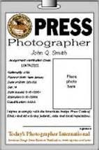 press badge template international freelance photographers organization ifpo