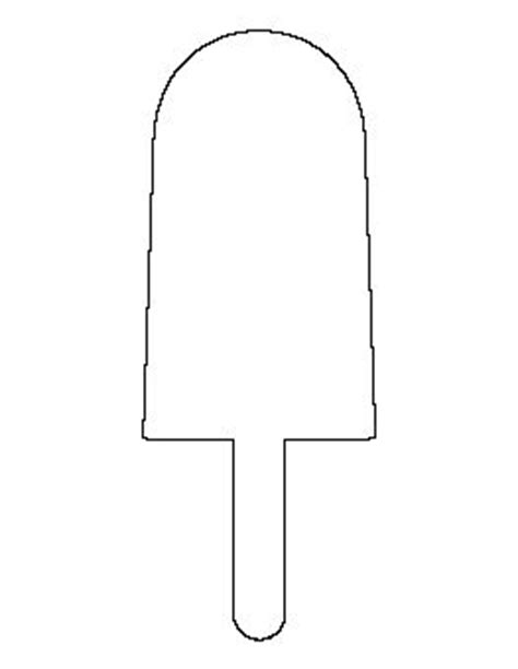 popsicle template 197 best images about food stencils templates