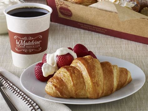 La Madeleine Gift Card Promotion - thursday freebies free all butter croissant at la madeleine