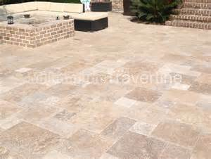 Travertine Patio Pavers Noce Travertine Pavers
