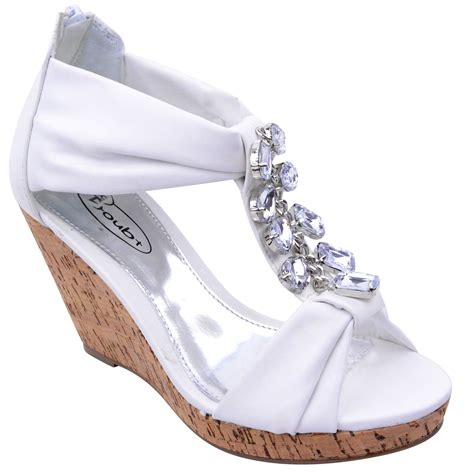 shoes and sandals for new womens summer wedge sandals diamante gem