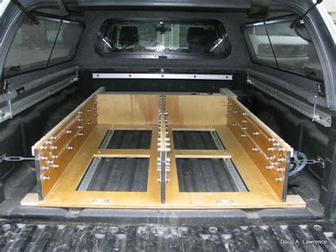 build your own truck bed slide out build of the month cer in a box expedition portal