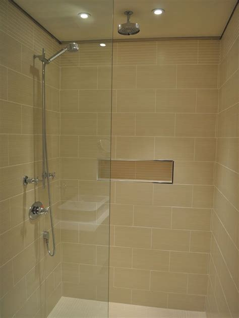 Tile Shower Without Door Tile Showers Without Doors Picture Of Shower With Glass Doors Shower Pinterest Pictures