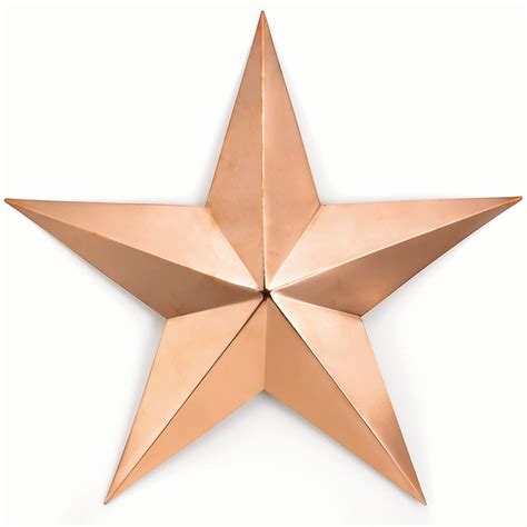 decorative stars for homes good directions gd222c 34 quot large copper barn star