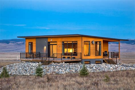 designer prefab homes in canada and usa