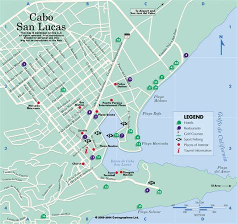 map of cabo san lucas cabo gif images