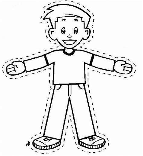free printable flat stanley template flat stanley coloring page printable coloring pages