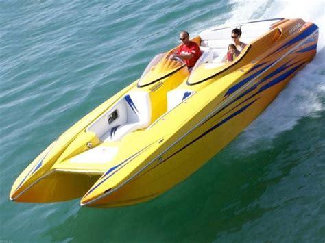 performance power boats performance catamaran boats plans boat design net