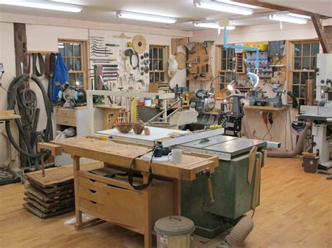 the woodworking shop woodturning workshop converted barn
