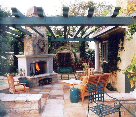 pergola with fireplace fireplace pergola patio sunset patio book outdoor