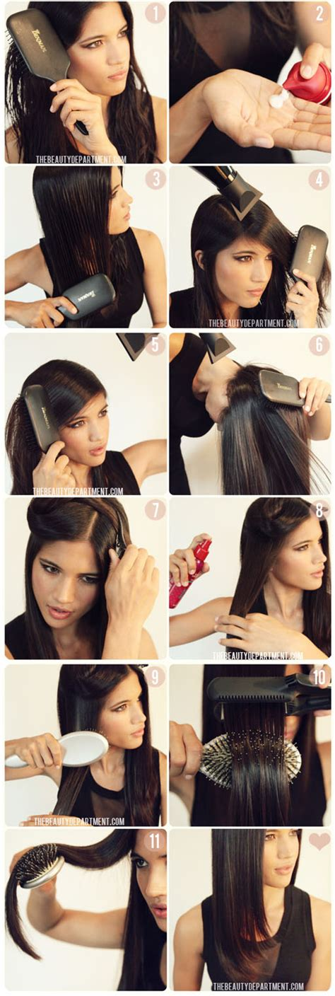 how do you use straighteners on a short side fringe 20 hair straightener hacks that will turn your hair into art
