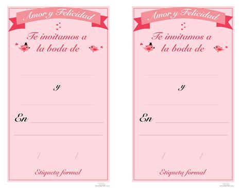 invitacines para boda para imprimir y editar imagui tarjeta para imprimir boda