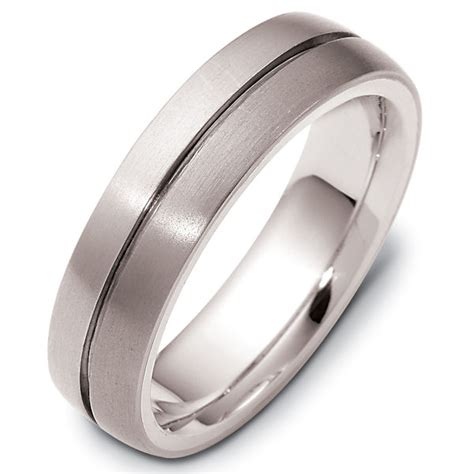 titanium comfort fit wedding bands 117111tg titanium 14 k gold comfort fit wedding band