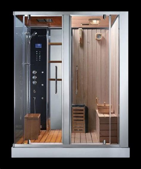 Bathroom Sauna Showers Ads 180 Steam Shower Sauna Combination Sauna Shower Combination Bathrooms Pinterest