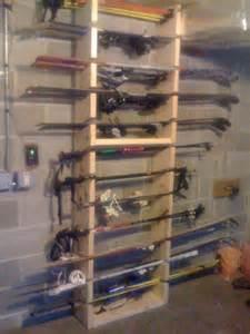Garage Ski Storage Ideas Ski Rack Project M S
