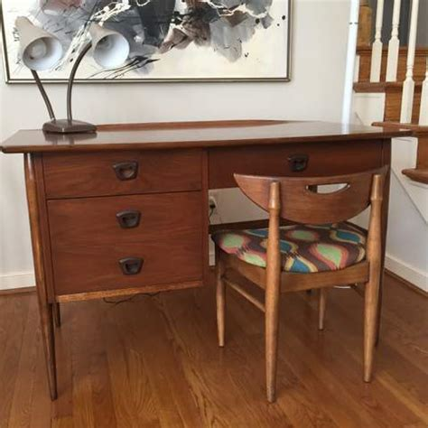 mid century modern walnut desk mid century modern walnut desk from the artisan