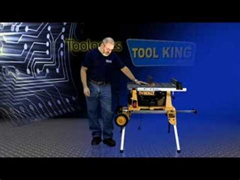 Wood From Home Dewalt Dw744xrs Table Saw With Rolling Stand