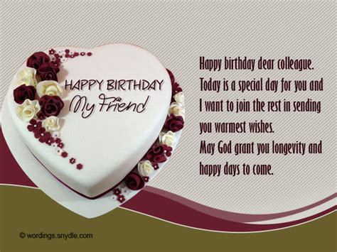 Happy Birthday Wishes To Colleague Birthday Messages For Colleague Wordings And Messages