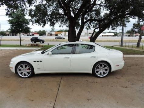 2006 Maserati Quattroporte Sport Gt by Sell Used 2006 Maserati Quattroporte Sport Gt 5880