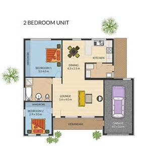 Retirement House Floor Plans by 3 Bedroom Units