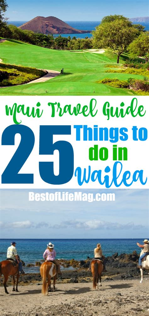 things to do on maui 25 things to do in wailea maui year round best of life