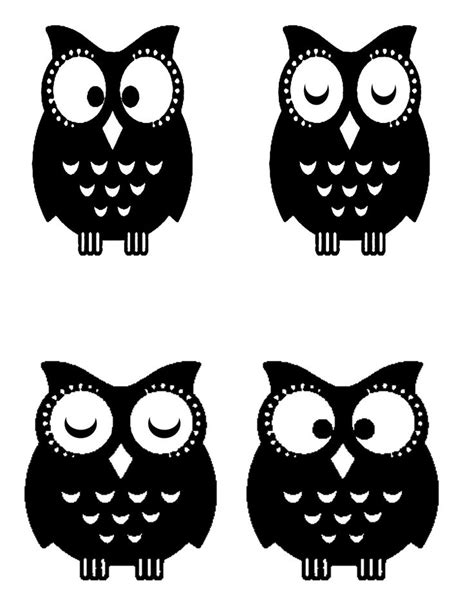printable owl stencils best 631 stencils silhuette cameo images on pinterest