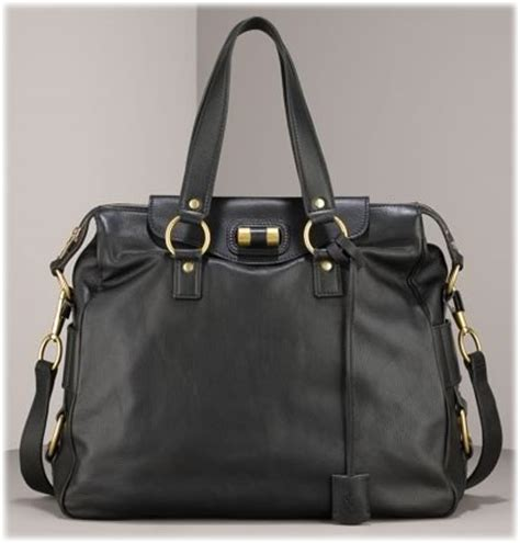 Miller Ysl Ostrich Rive Gauche Bag by Style Purseblog