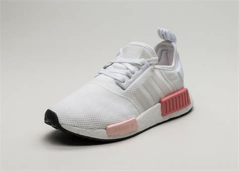 Adidas Nmd R1 White Pink For adidas nmd r1 w ftwr white ftwr white pink asphaltgold