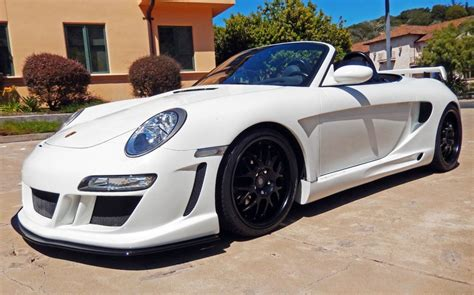 porsche boxster widebody porsche 986 boxster to 997 turbo gemballa avalanche