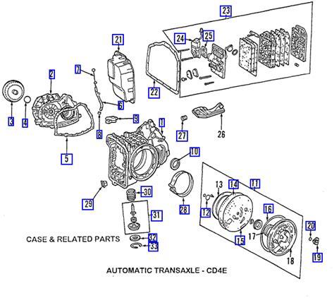 cd4e transmission diagram ford cd4e transmission diagram