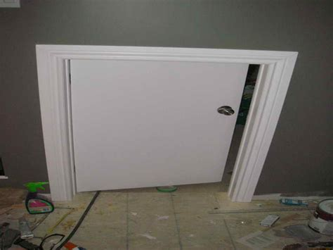 Building A Crawl Space Door by Planning Ideas Stell Crawl Space Doors Crawl Space