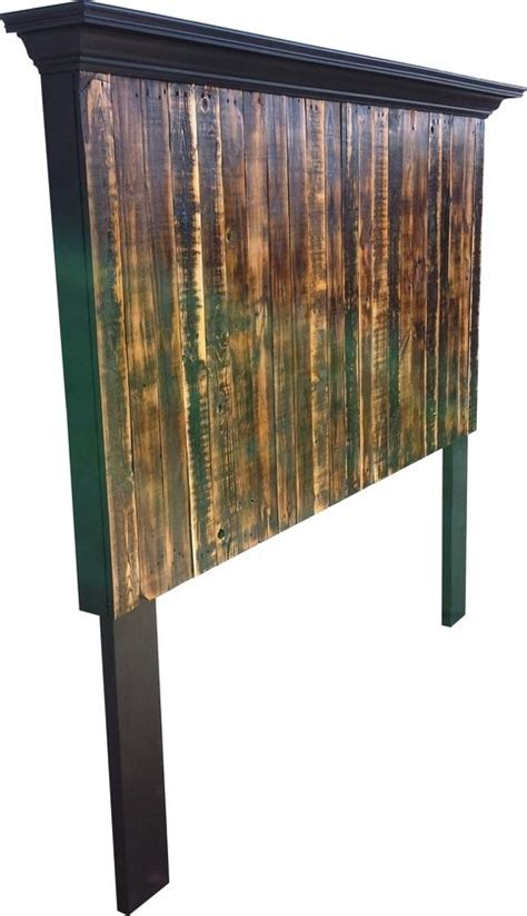 tall king size headboard tall king or queen size pallet headboard from vintage