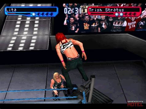 trish stratus smackdown 2 trish stratus wwf smackdown 2 know your role roster