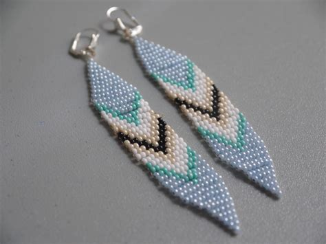 tribal pattern earrings diy beaded tribal earrings pumps iron