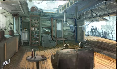 tree house interior treehouse interior by jameschoe on deviantart