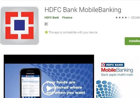 hdfc bank mobile banking hdfc bank update bank restores m banking app in play