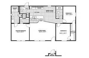 Sunshine Mobile Homes Floor Plans Manufactured Home Floor Plan 2008 Clayton Value Ii