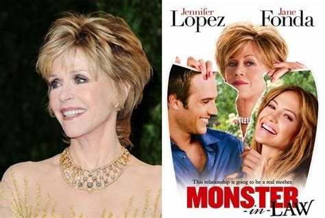 jane fonda hairstyle in monster in law jane fonda monster in law the worst films from