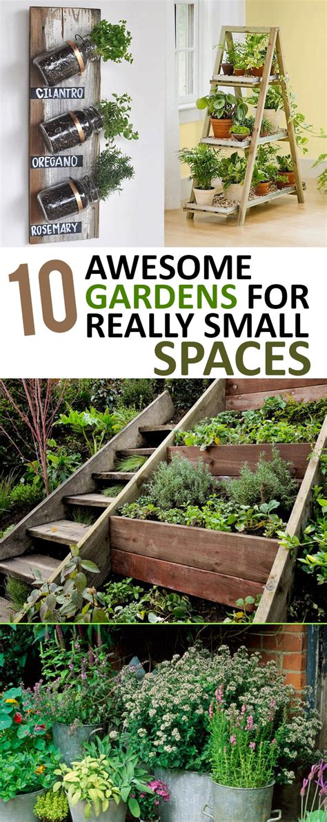 garden ideas for small gardens 10 awesome gardens for really small spaces