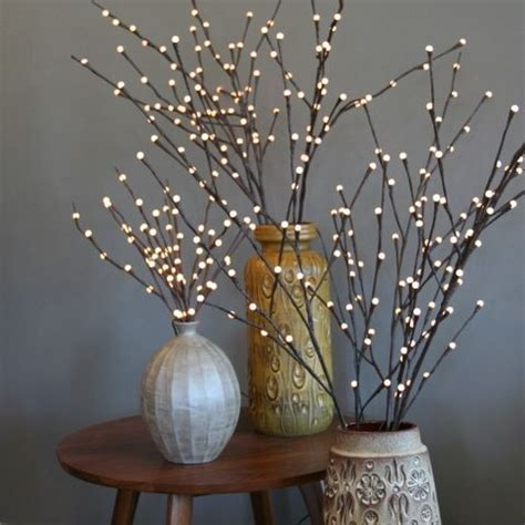 decorative branches with lights uk best 25 willow branches ideas on pinterest curly willow