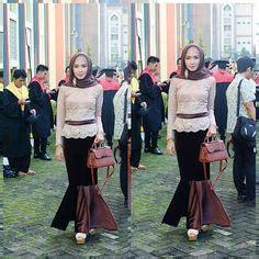 Ravena Batik Muslim pin asiah auf muslimah fashion style niqab