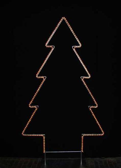 leucht tannenbaum mit led lichtschlauch