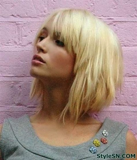 blonde hairstyles with bangs and layers 15 fashionable bob hairstyles with layers pretty designs