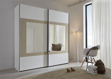 schwebet 252 renschrank wei 223 spiegel quadratisch - 2 Türiger Kleiderschrank Mit Spiegel